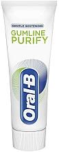 Parfums et Produits cosmétiques Dentifrice blanchissant - Oral-B Professional Gumline Pro-Purify Gentle Whitening Toothpaste