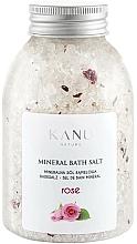 Parfums et Produits cosmétiques Sel de bain minéral Rose - Kanu Nature Rose Mineral Bath Salt