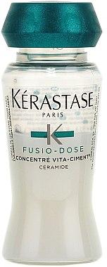 Soin reconstructeur intensif pour cheveux - Kerastase Fusio Dose Concentre Vita-Ciment  — Photo N2