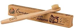 Parfums et Produits cosmétiques Brosse à dents en bambou pour enfants, souple - Curanatura Bamboo Junior