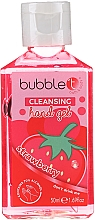 Gel antibactérien pour mains, Fraise - Bubble T Cleansing Hand Gel Strawberry — Photo N1