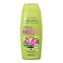 Parfums et Produits cosmétiques Shampooing et après-shampooing, Basilic et Fleur de lotus - Avon Naturals Hair Care Shampoo