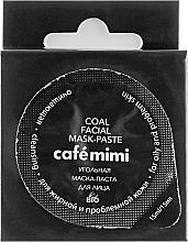 Parfums et Produits cosmétiques Masque-pâte au charbon pour visage - Cafe Mimi Coal Mask