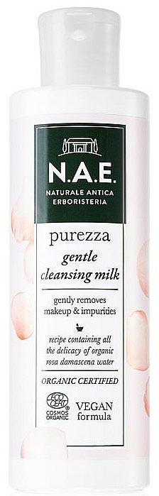Lait nettoyant à la rose de Damas pour visage - N.A.E. Purezza Gentle Cleansing Milk