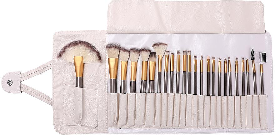 Kit pinceaux de maquillage, 24pcs - Lewer
