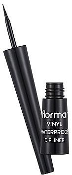 Eyeliner liquide waterproof - Flormar Vinyl Waterproof Dipliner