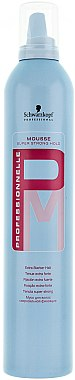 Mousse fixation extra-forte - Schwarzkopf Professional Professionnelle Mousse Super Strong Hold — Photo N1