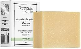 Parfums et Produits cosmétiques Shampooing solide à l'aloe vera - Christophe Robin Hydrating Shampoo Bar with Aloe Vera