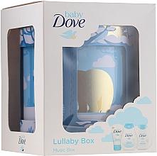 Parfums et Produits cosmétiques Dove Baby Rich Moisture - Set pour bébé(shampooing/200ml + lotion corporelle/200ml + crème pour le change/45g)