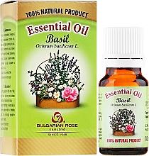 Parfums et Produits cosmétiques Huile essentielle de basilic 100% naturelle - Bulgarian Rose Basil Essential Oil