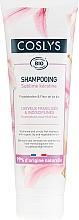 Parfums et Produits cosmétiques Shampooing à la phytokératine et fleur de lys bio, cheveux fragilisés et indisciplinés - Coslys Keratin Shampoo