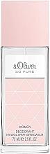 Parfums et Produits cosmétiques S.Oliver So Pure Women - Déodorant