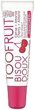 Parfums et Produits cosmétiques Baume à lèvres bio au miel et beurre de karité, Cerise et Amande - TOOFRUIT Bisou Doux Mademoiselle Lip Balm Cherry Almond