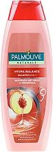 Parfums et Produits cosmétiques Shampooing et après-shampooing à la pêche et protéines de soie - Palmolive Naturals 2 in 1 Hydra Balance Shampoo