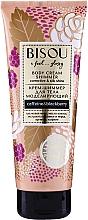 Parfums et Produits cosmétiques Crème scintillante à la caféine pour corps - Bisou Collagen&Blackberry Body Cream Shimmer