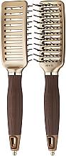Parfums et Produits cosmétiques Brosse à cheveux - Olivia Garden Nano Thermic Ceramic + ion VTS Brush