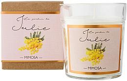 Parfums et Produits cosmétiques Bougie parfumée, Mimosa - Ambientair Le Jardin de Julie Mimosa