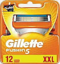 Parfums et Produits cosmétiques Lames de rechange pour rasoir, 12 pcs - Gillette Fusion