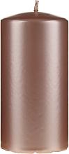 Parfums et Produits cosmétiques Bougie décorative, 14 cm, or rose nacré - Artman Opal Candle