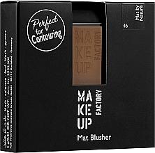 Parfums et Produits cosmétiques Blush mat - Make Up Factory Mat Blusher