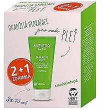 Parfums et Produits cosmétiques Weleda Skin Food Light Multipack - Lot (crèmes pour visage et corps/3x75ml)