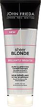 Parfums et Produits cosmétiques Après-shampooing effet nacré scintillant - John Frieda Sheer Blonde Brilliantly Brighter Conditioner
