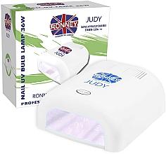 Parfums et Produits cosmétiques Lampe UV, blanc - Ronney Profesional Judy UV 36W (GY-UV-230) Lamp