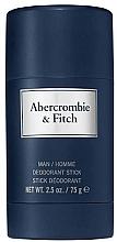 Parfums et Produits cosmétiques Abercrombie & Fitch First Instinct Blue - Déodorant stick