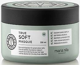 Parfums et Produits cosmétiques Masque à l'huile d'argan pour cheveux - Maria Nila True Soft Masque