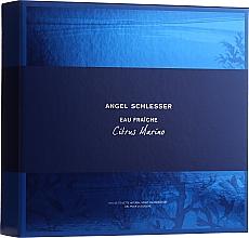 Parfums et Produits cosmétiques Angel Schlesser Eau Fraiche Citrus Marino - Coffret (eau de toilette/100ml + gel douche/150ml)