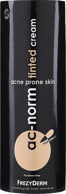 Crème teintée pour peaux acnéiques - Frezyderm Ac-Norm Tinted Cream — Photo N1