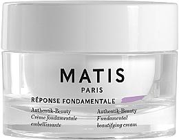 Parfums et Produits cosmétiques Crème à l'acide hyaluronique pour visage - Matis Reponse Fondamentale Authentik-Beauty