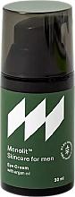 Parfums et Produits cosmétiques Crème à l'huile d'argan contour des yeux - Monolit Skincare For Men Eye Cream With Argan Oil