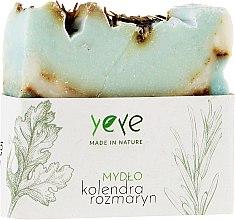 Parfums et Produits cosmétiques Savon 100% naturel , Coriandre et romarin - Yeye Natural Coriander and Rosemary Soap