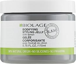 Parfums et Produits cosmétiques Gelée corporisante à l'extrait de citron - Biolage R.A.W. Bodifiyng Styling Jelly