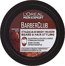 Parfums et Produits cosmétiques Crème coiffante à l'huile de cèdre pour barbe - L'Oreal Paris Men Expert Barber Club