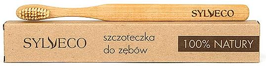 Brosse à dents en bambou naturelle - Sylveco — Photo N1