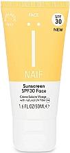 Parfums et Produits cosmétiques Crème solaire pour visage - Naif Sunscreen Face Spf30