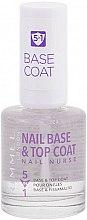 Parfums et Produits cosmétiques Base et top coat pour ongles - Rimmel Nail Nurse 5 in 1 Nail Base & Top Coat