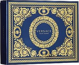 Parfums et Produits cosmétiques Versace Pour Homme - Coffret (eau de toilette/50ml + shampooing corps et cheveux/50ml + baume après-rasage/50ml)