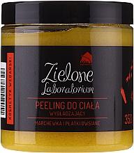 Parfums et Produits cosmétiques Gommage lissant à l'extrait de carotte et flocons d'avoine pour corps - Zielone Laboratorium