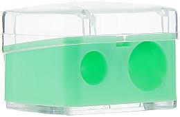 Parfums et Produits cosmétiques Taille-crayon double avec couvercle, vert - Top Choice