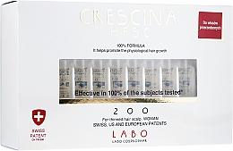 Parfums et Produits cosmétiques Traitement en ampoules stimulat la croissance des cheveux - Labo Crescina HFSC 200 Re-Growth Woman