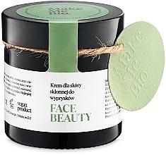 Parfums et Produits cosmétiques Crème aux huiles d'argousier et olive pour visage - Make Me BIO Beautiful Face