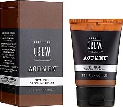 Parfums et Produits cosmétiques Crème coiffante fixation forte Homme - American Crew Acumen Firm Hold Grooming Cream