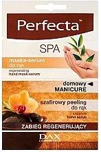 Parfums et Produits cosmétiques Gommage + masque-sérum régénérant pour mains - Perfecta Spa Hand Peeling