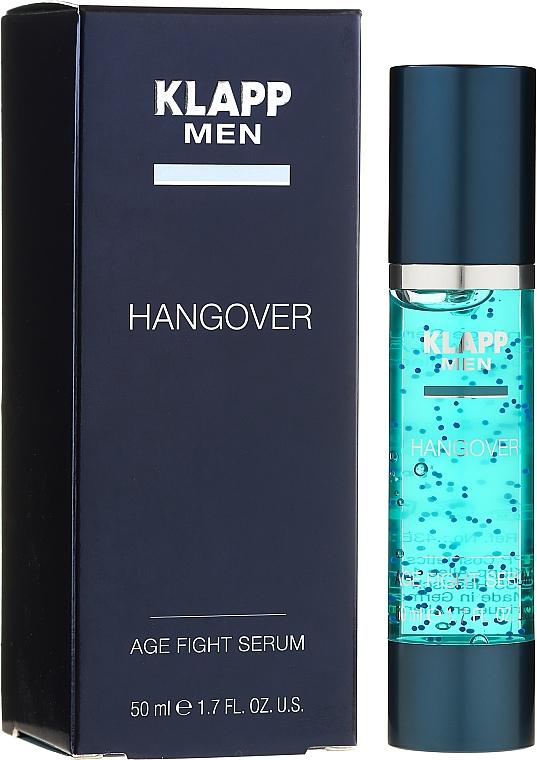 Sérum à l'acide lactique pour visage - Klapp Men Hangover Age Fight Serum