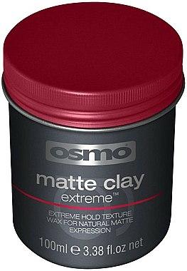 Cire coiffante matifiante à l'argile, fixation extra forte - Osmo Matte Clay Extreme