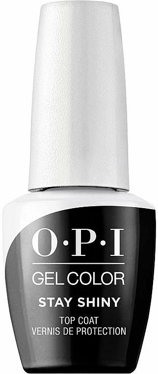 Top coat - O.P.I. Gel Stay Shiny Top Coat