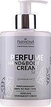 Parfums et Produits cosmétiques Crème parfumée pour mains et corps - Farmona Professional Perfume Hand&Body Cream Silver